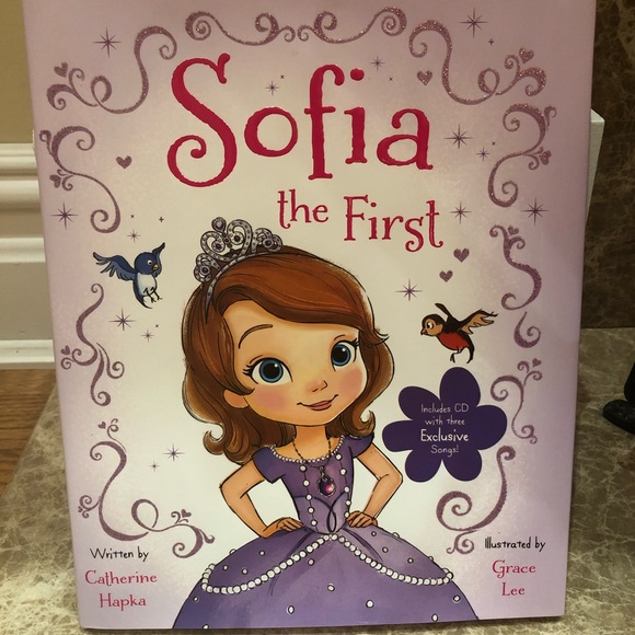 Disney Other - 2 For $10🎉NWOT New Sophia The First Book With CD